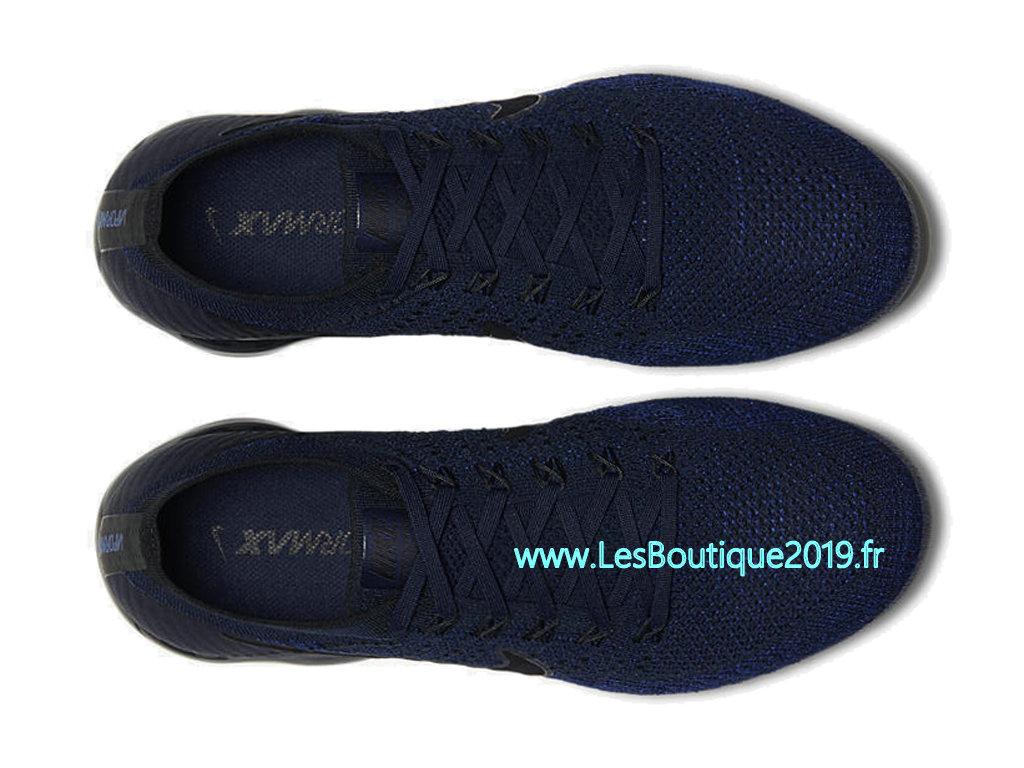 sports shoes 2a179 ce6e2 ... Nike Air VaporMax Collegiate Navy Chaussure Officiel Prix Pas Cher Pour  Homme 849558-400 ...