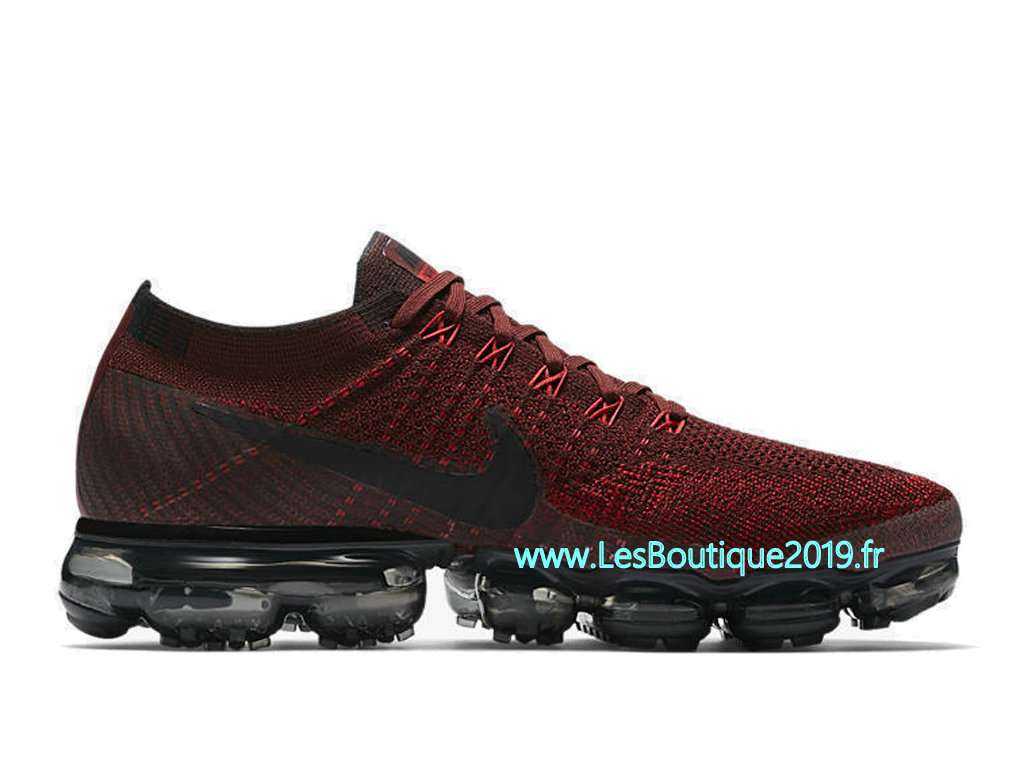 sneakers for cheap a36dc 0adb6 Nike Air VaporMax Dark Team Red Chaussure Officiel Prix Pas Cher Pour Homme  849558-601 ...