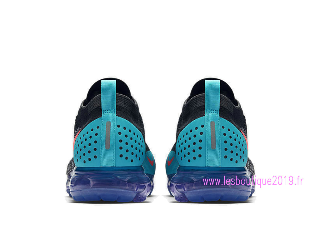 e5dcb4074f6f5 ... Nike Air VaporMax Flyknit 2.0 Black Blue Men´s Nike Running Shoes 942842 -003
