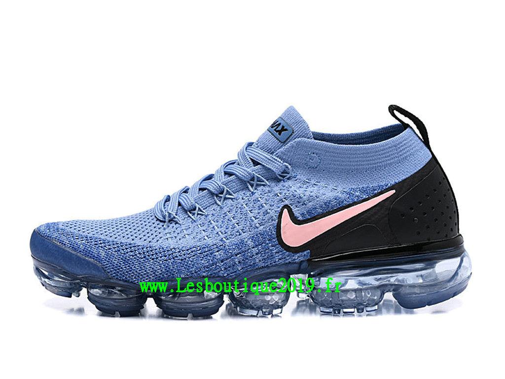 regard détaillé 41322 eab2c Nike Air VaporMax Flyknit 2.0 W Chaussures Basket 2019 Pas Cher Pour Homme  Bleu Noir 942842-401 - 1812051094 - Achetez de Chaussure de Baskets ! Nike  ...