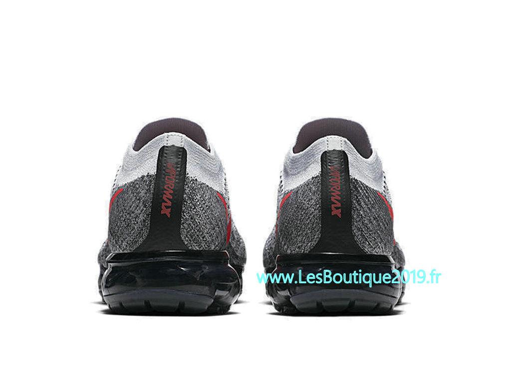 Nike AIR Vapormax Flyknit Gris Rouge Chaussure de BasketBall Pas Cher Pour Homme 849558 020 1807110043 Achetez de Chaussure de Baskets ! Nike en
