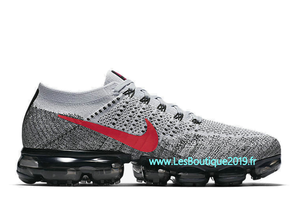 huge selection of 185a4 62088 Nike AIR Vapormax Flyknit Gery Red Men´s Nike BasketBall Pas Cher Shoes  849558- ...