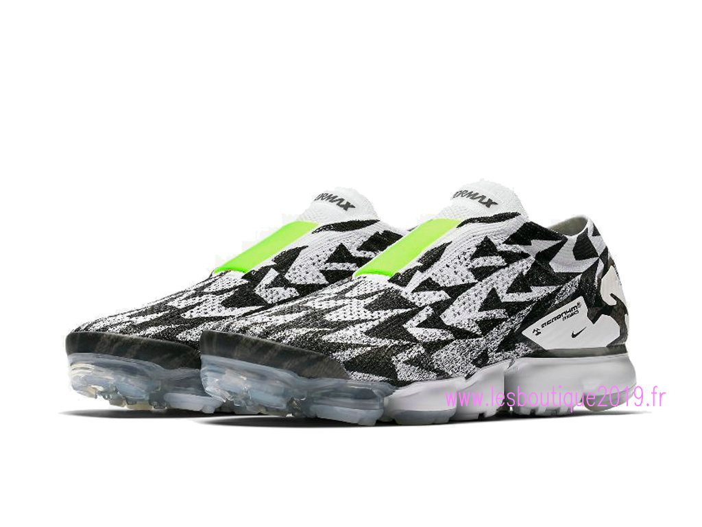 on sale 72862 0028a ... Nike Air VaporMax Flyknit MOC 2 White Black Men´s Nike Running Shoes  AQ0996- ...