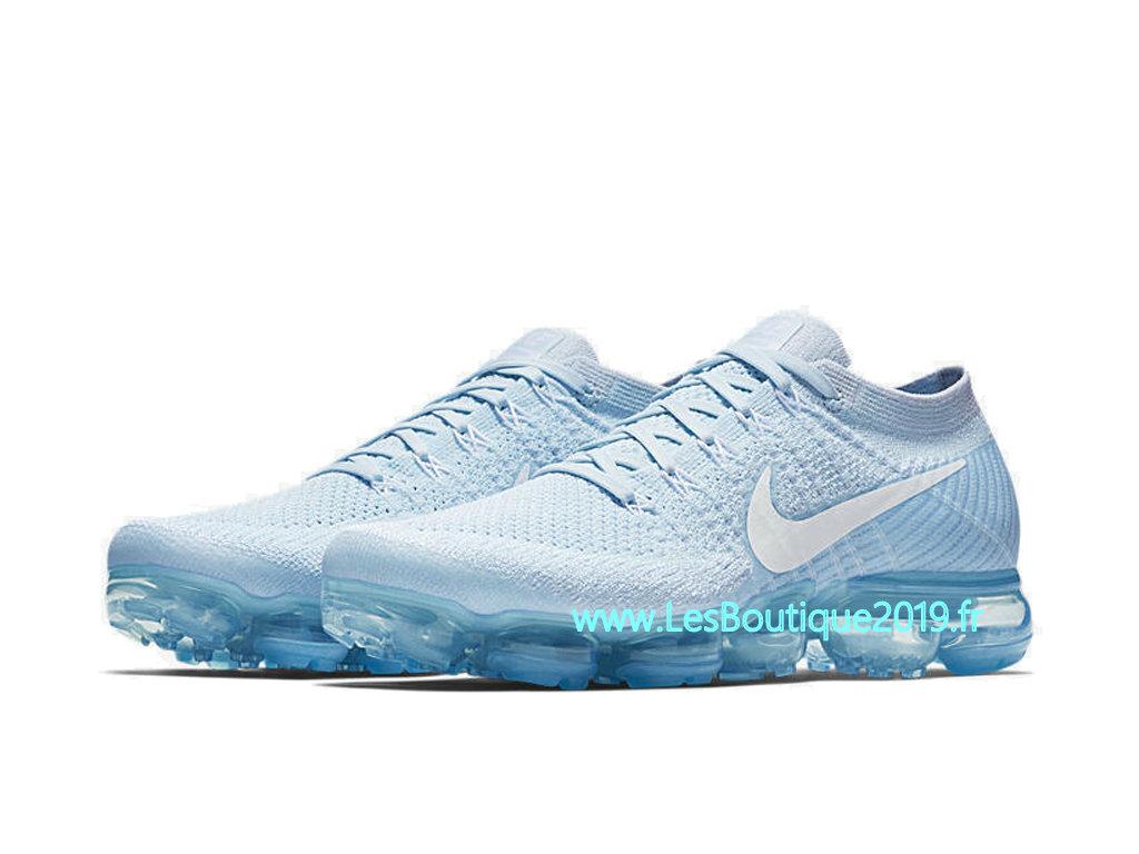 664242e21f4 ... Nike Air VaporMax Glacier Blue Chaussure Officiel Prix Pas Cher Pour  Homme 849558-404 ...