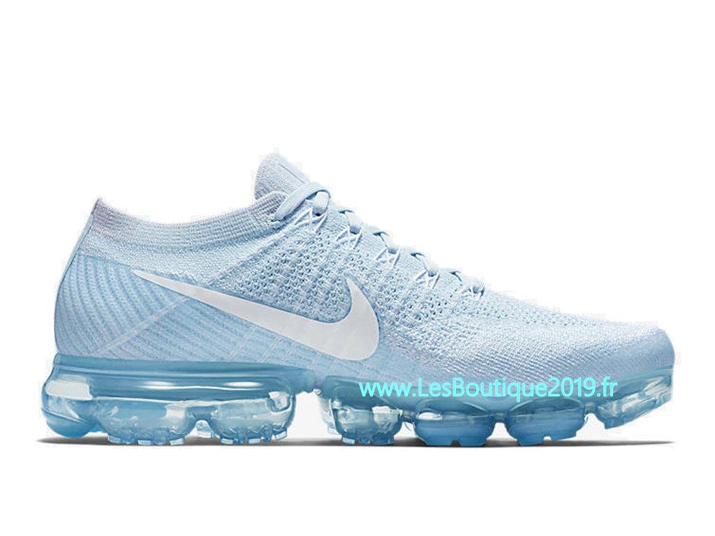 de8040299c0 Nike Air VaporMax Glacier Blue Chaussure Officiel Prix Pas Cher Pour Homme  849558-404 ...