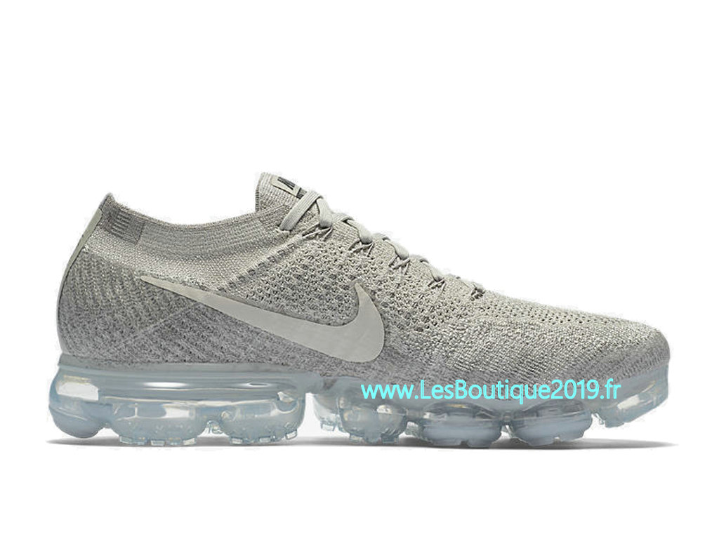 Nike Air VaporMax Pale Grey Chaussure Nike 2018 Pas Cher Pour Homme 849558-005
