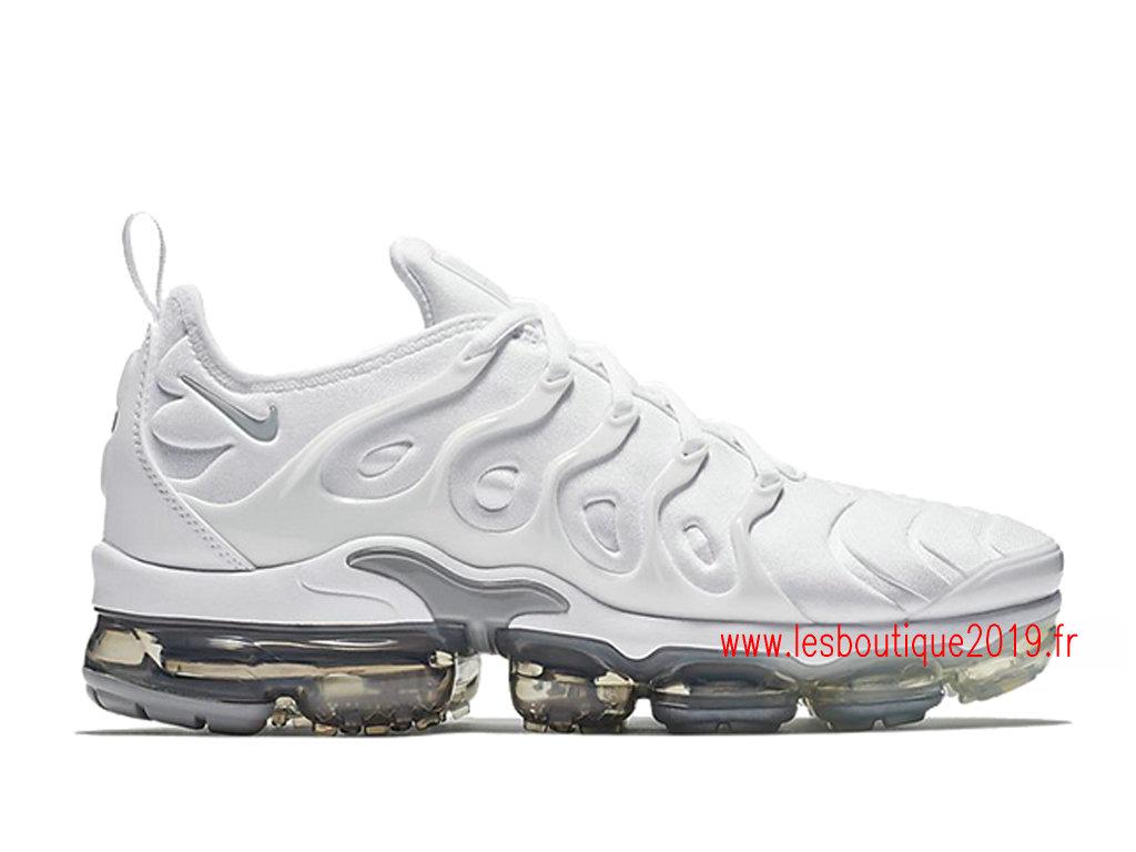 ea5a88857c4 Nike Air VaporMax Plus Blanc Chaussures Officiel Tn Pas Cher Pour Homme  924453-102 ...