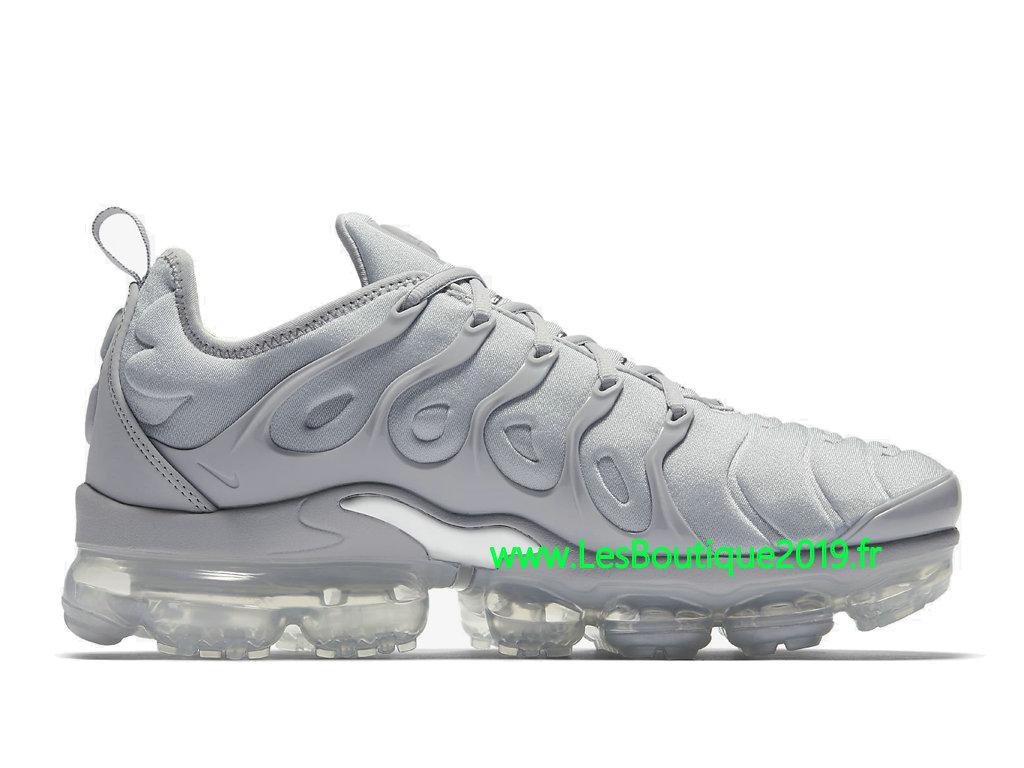 separation shoes eb07a 88d71 Nike Air Vapormax Plus Gris Argent Chaussures Officiel Tn Pas Cher Pour  Homme 924453-005 ...