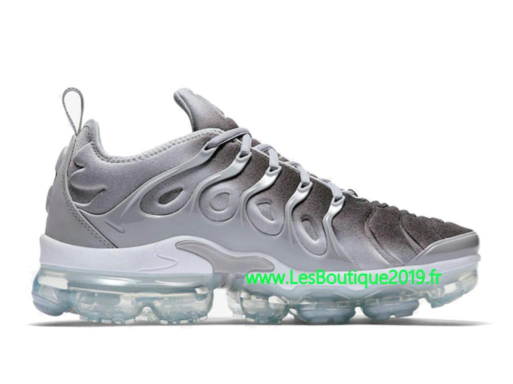 online store 41f4b 93449 ... spain nike air vapormax plus gris blanc chaussures officiel tn pas cher  pour homme 924453 007 ...