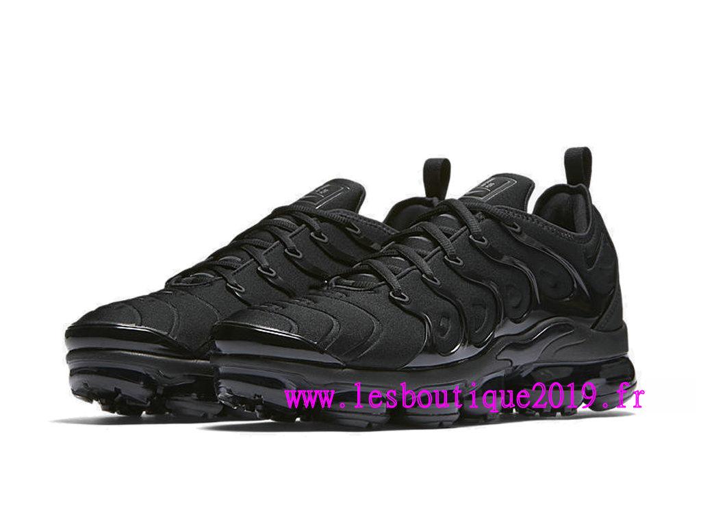 7ec8dd774bf24 ... Nike Air Vapormax Plus GS Noir Chaussures de BasketBall Pas Cher Pour  Femme Enfant 924453 ...