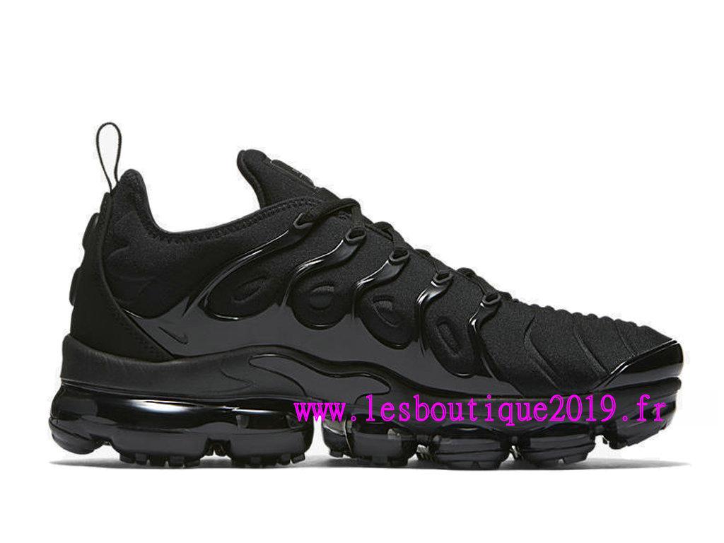 classic shoes ever popular latest Nike Air Vapormax Plus GS Noir Chaussures de BasketBall Pas ...