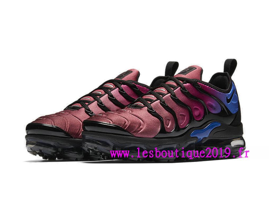 112e28f106e5 ... Nike Air Vapormax Plus GS Rouge Bleu Noir Chaussures de BasketBall Pas  Cher Pour Femme  ...