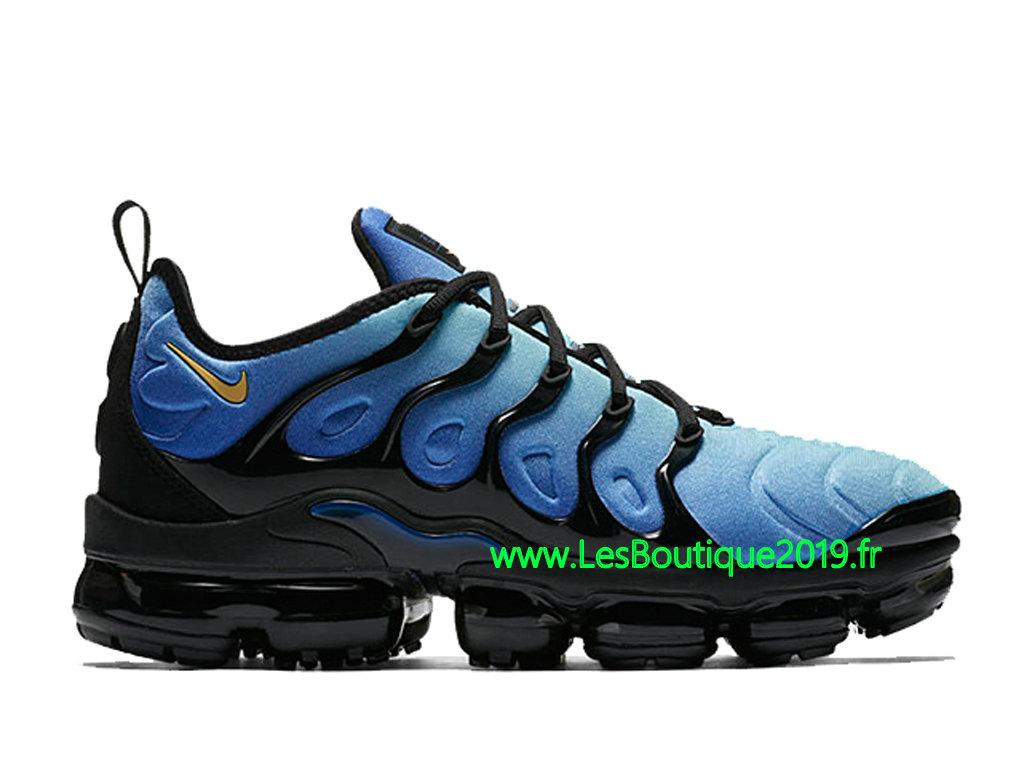 outlet store 4db8d d0c2c Nike Air Vapormax Plus Noir Bleu Chaussures Officiel Tn Pas Cher Pour Homme  924453-008 ...