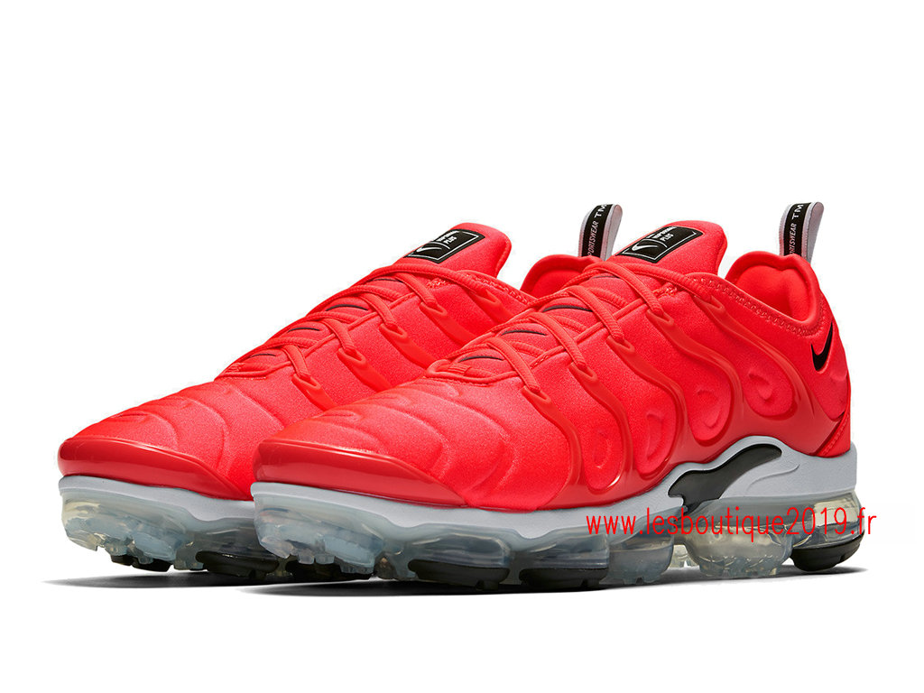 cheap for discount 0e1d7 1d4d8 ... Nike Air VaporMax Plus Rouge Blanc Chaussures Officiel Tn Pas Cher Pour  Homme 924453-602 ...