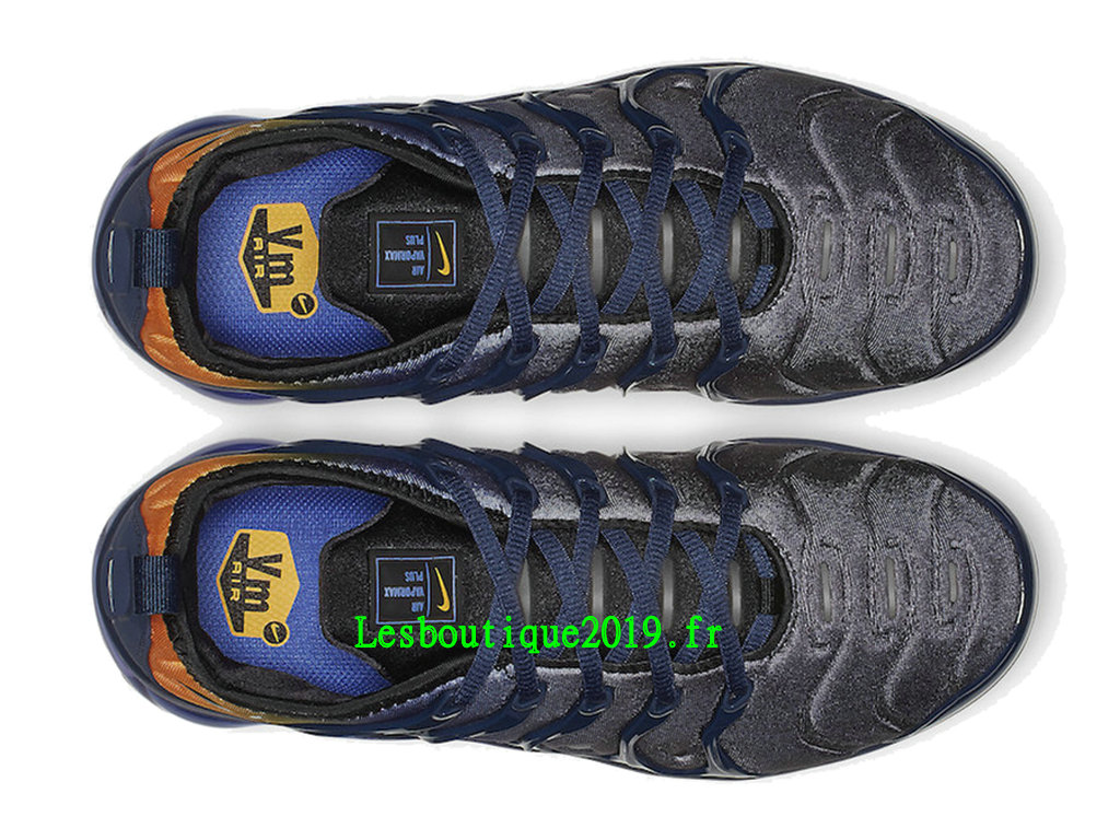 low priced d7c1e 8c0e7 ... Nike Air VaporMax Plus Utility Blue Orange Men´s Officiel Running Prix  Shoes AO4550- ...