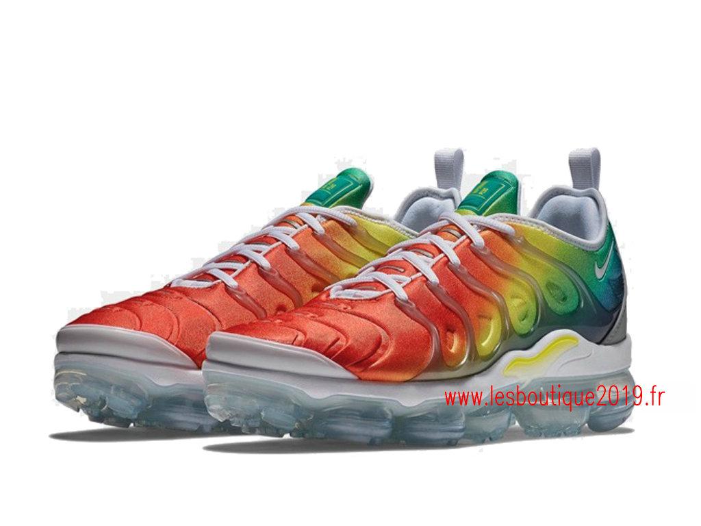 best sneakers 97cd3 23160 ... Nike Air VaporMax Plus Vert Rouge Chaussures Officiel Tn Pas Cher Pour  Homme 924453-103 ...