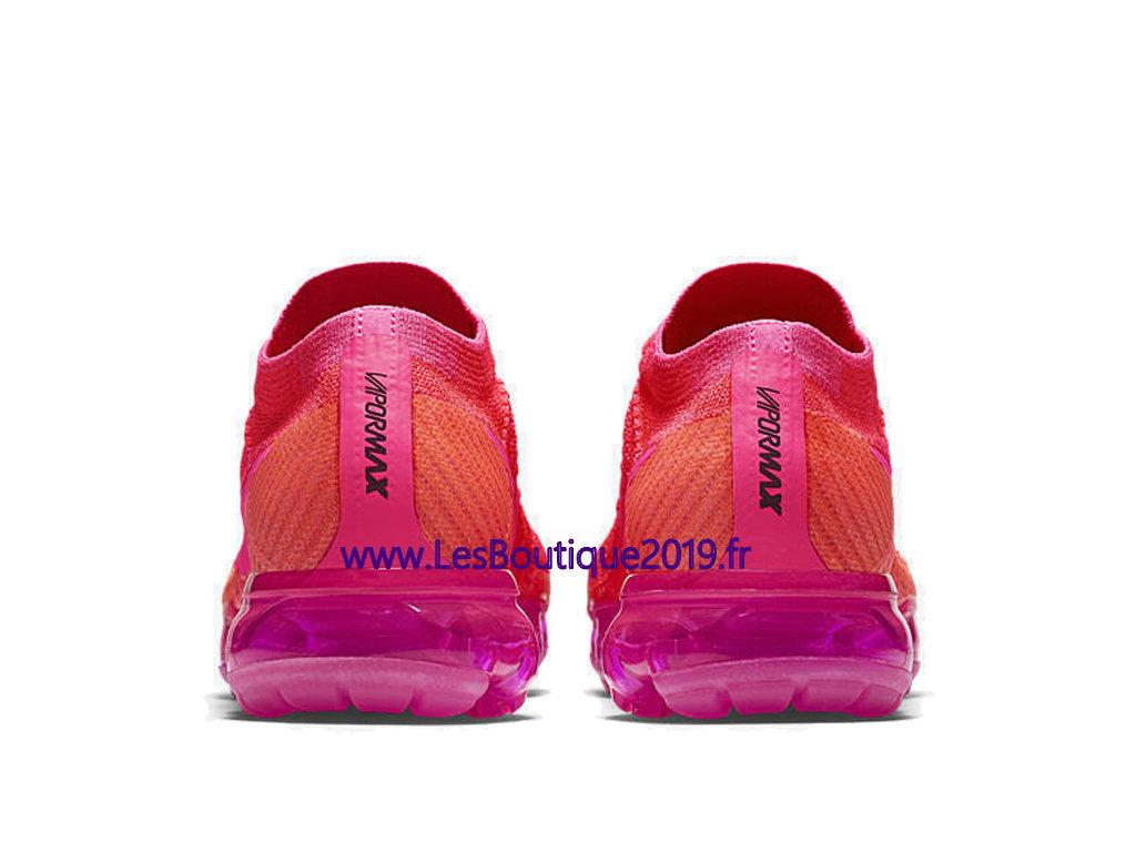 Nike Air Vapormax Rose Chaussure De Running Pas Cher Pour Femme