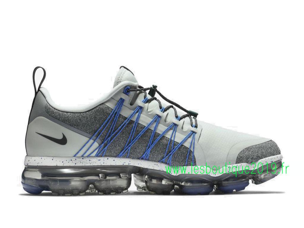 sports shoes 3747b 9201f ... Nike Air Vapormax Run Utility Light Silver Chaussures Nike Sports Pas  Cher Pour Homme AQ8810- ...