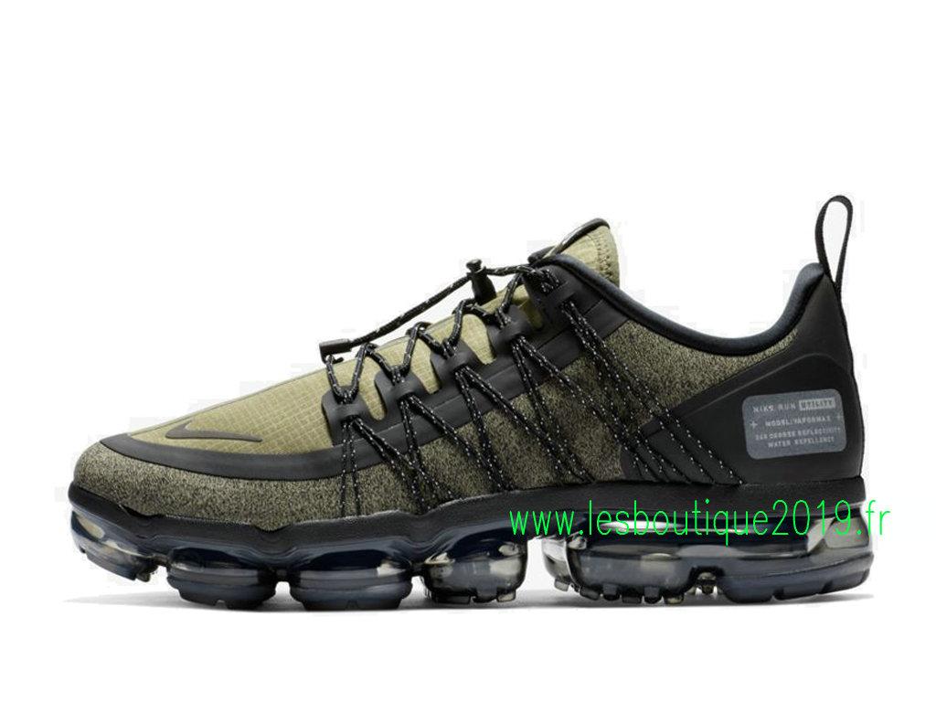 promo code 94602 9d47e Nike Air VaporMax Run Utility Medium Olive Chaussures Nike Sports Pas Cher Pour  Homme AQ8810- ...