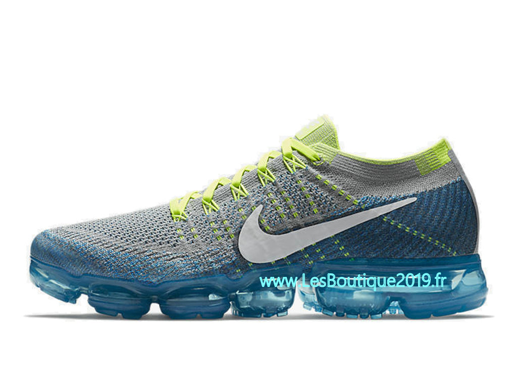 3e315e2c555 ... Nike Air VaporMax Sprite Blue White Men´s Nike BasketBall Pas Cher Shoes  849558- ...