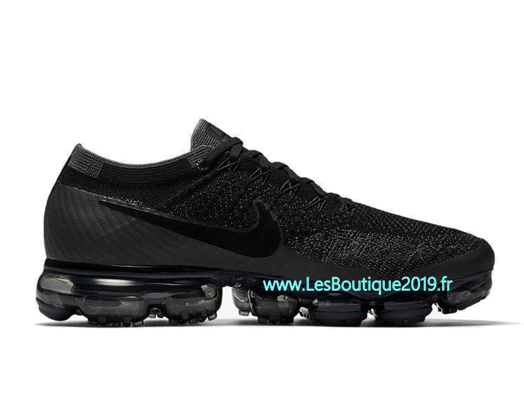 best sale first rate classic styles Nike Air Vapormax Triple Black Chaussure Nike 2018 Pas Cher ...
