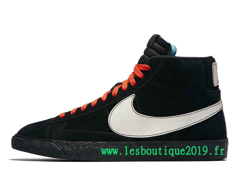 wholesale dealer 09b93 f384a ... Nike Blazer Mid NY vs LA GS Black White Women´s Nike Running Shoes  AT9978 ...