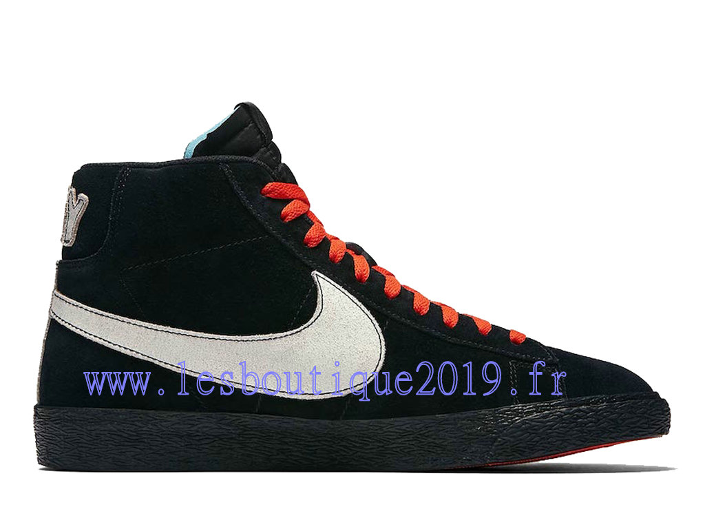 hot sale online 9803c 8c30c Nike Blazer Mid NY vs LA Black White Men´s Nike Running Shoes AT9978- ...