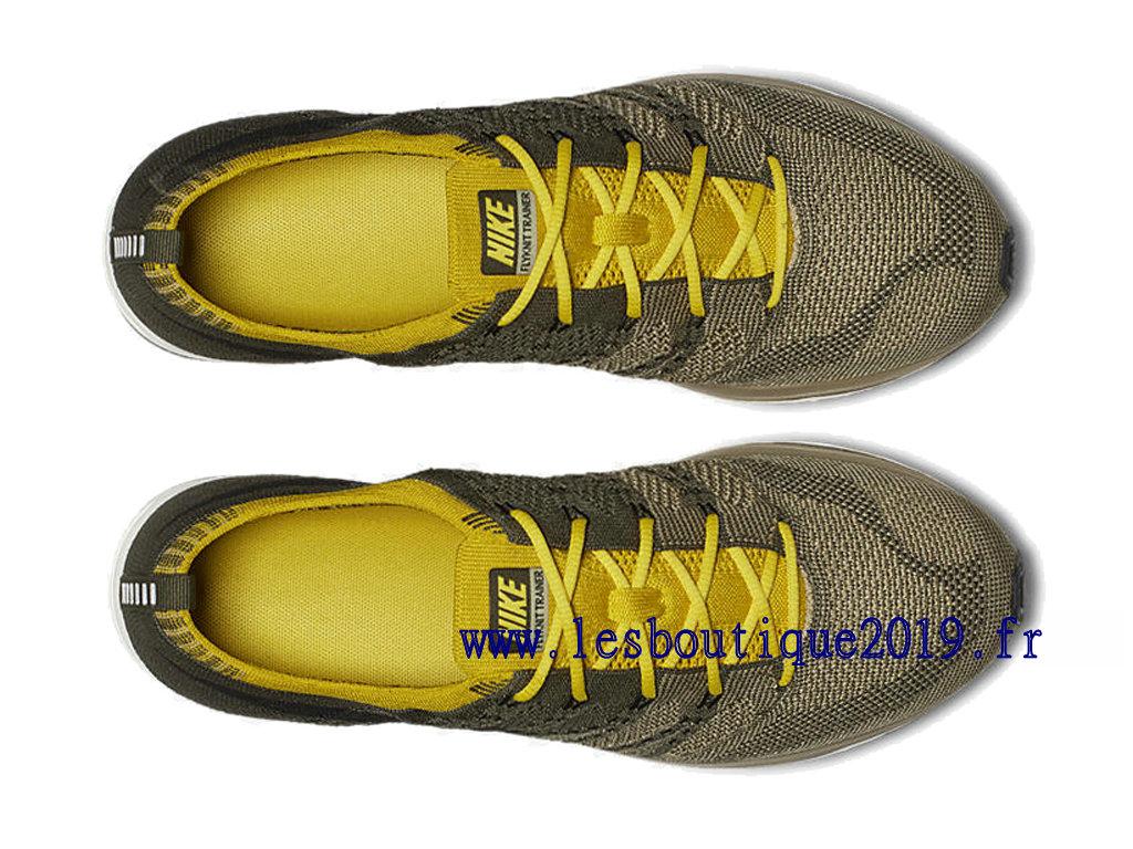 e5453e6da0ee9 Nike Flyknit Trainer Cargo Khaki Men´s Nike Running Shoes AH8396-300 ...