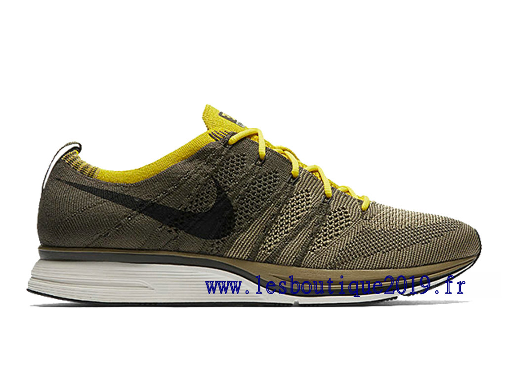 Nike Flyknit Trainer Cargo Khaki Chaussures Nike Running Pas Cher Pour Homme AH8396-300