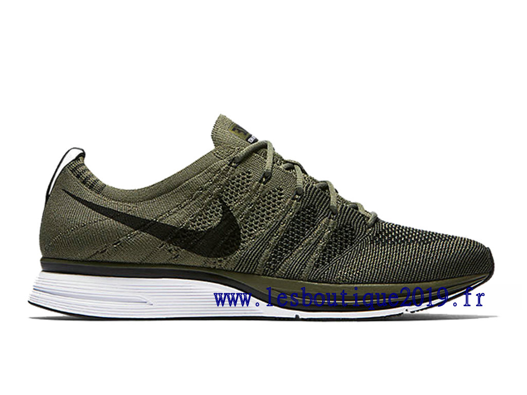 Nike Flyknit Trainer Light Olive Chaussures Nike Running Pas Cher Pour Homme AH8396-200