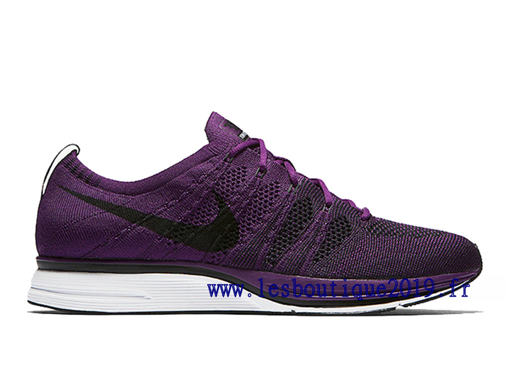 Nike Flyknit Trainer Night Purple Chaussures Nike Running Pas Cher Pour Homme AH8396-500
