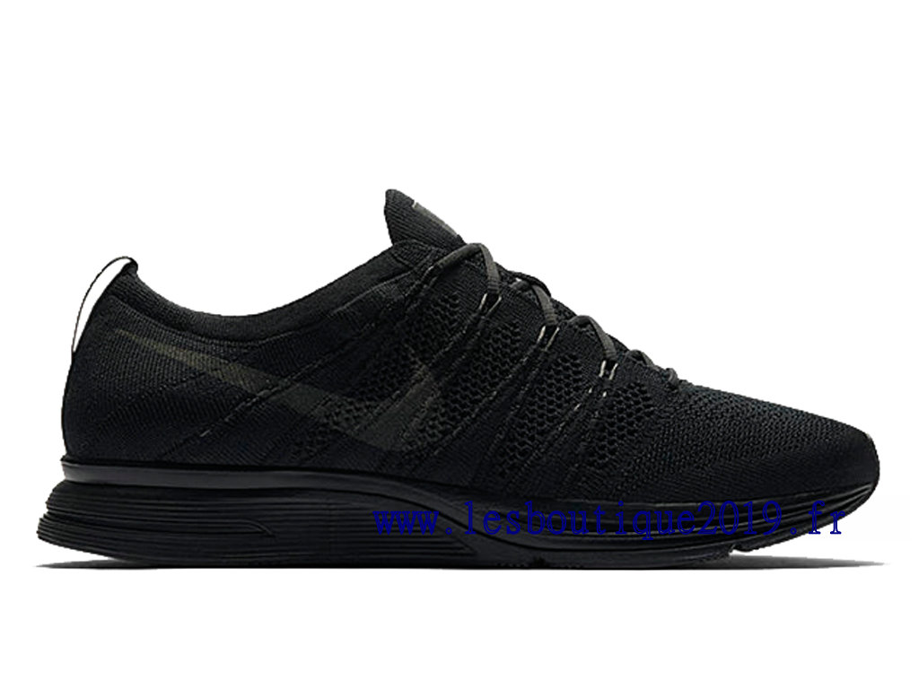 Nike Flyknit Trainer Triple Black Chaussures Nike Running
