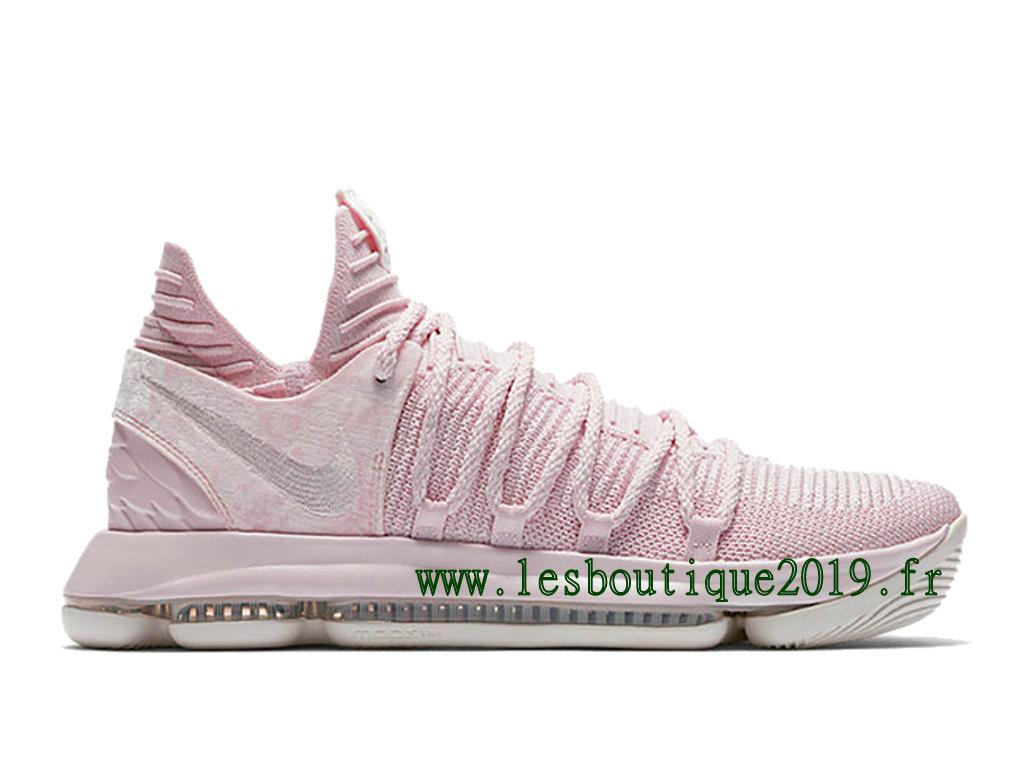 size 40 01a1a 9db25 Nike KD 10 Aunt Pearl Chaussure de BasketBall Pas Cher Pour Homme  AQ4110-600 ...