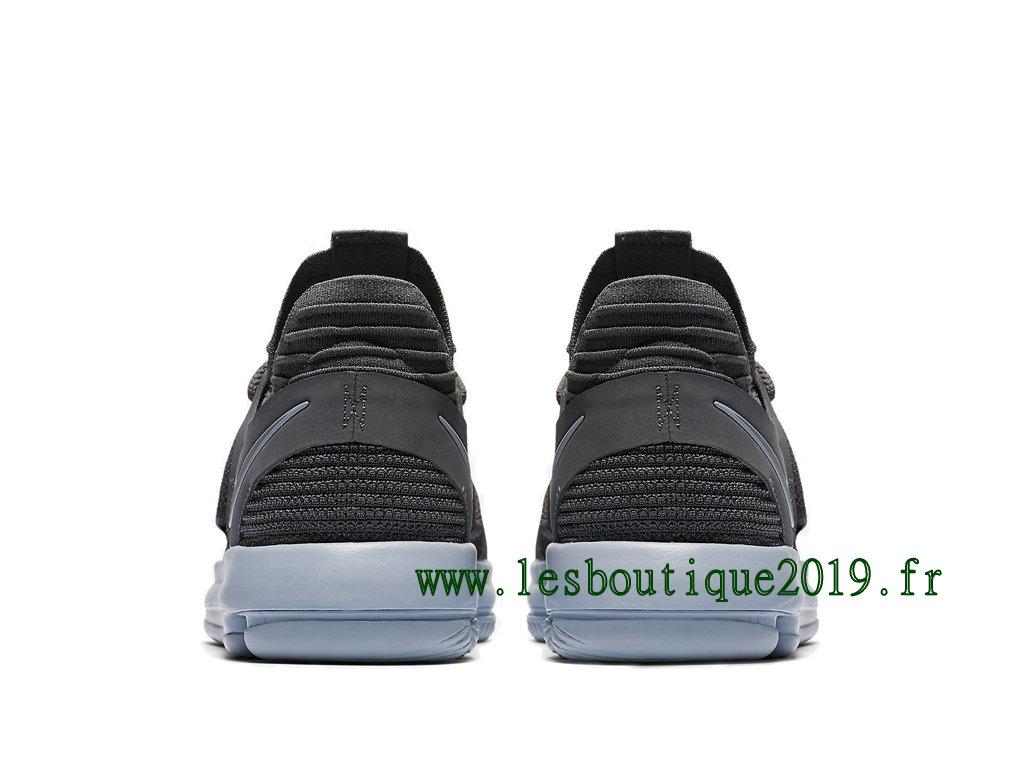 promo code e1781 9b471 ... Nike KD 10 Dark Grey Chaussure de BasketBall Pas Cher Pour Homme  897815-005