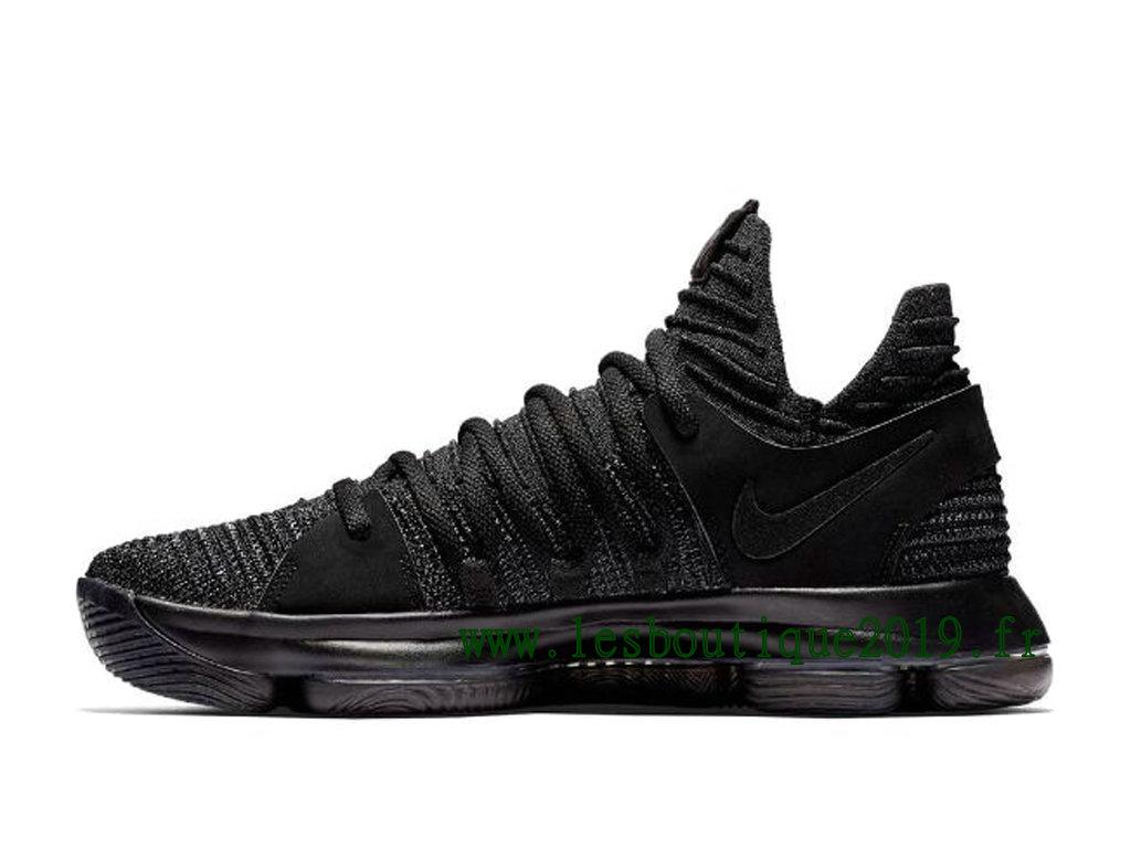 96aa52c38203 ... Nike KD 10 Triple Black Men´s Nike BasketBall Shoes 897815-004 ...