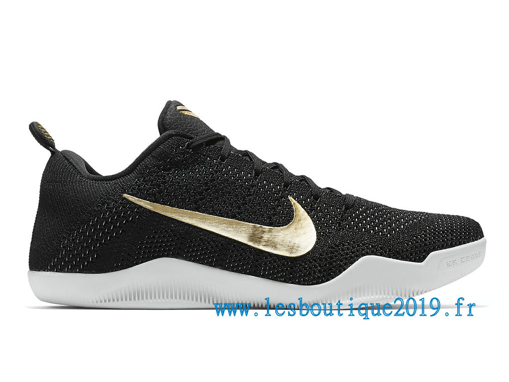 63f2962e266e Nike Kobe 11 Elite GCR Men´s Nike Officiel Shoes Black Gold 885869 070
