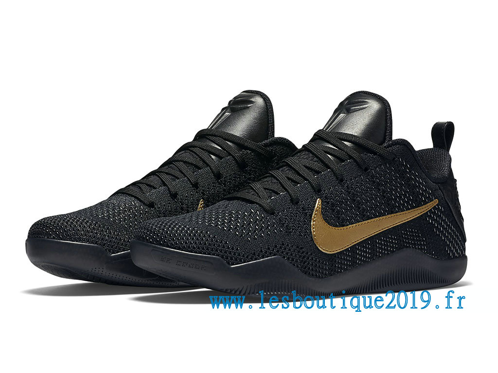 san francisco 5a4b1 46eda ... Nike Kobe 11 Elite Low FTB Men´s Nike BasketBall Shoes Black Gold  869459- ...