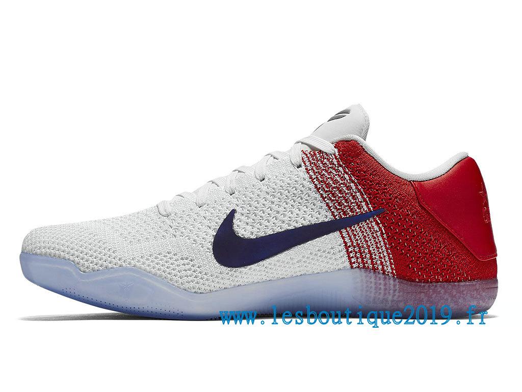 72f4b8ecff85 ... Nike Kobe 11 Elite USA Olympic Men´s Nike BasketBall Shoes White Blue  822675 184 ...