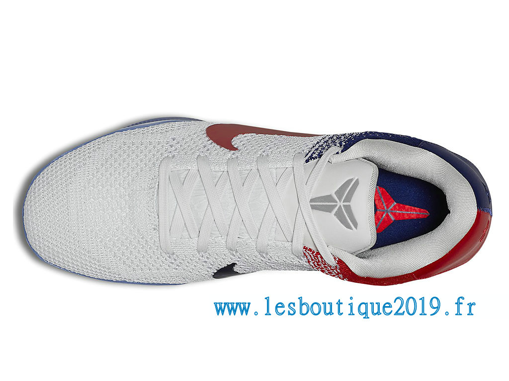 341e46ec705f ... Nike Kobe 11 Elite USA Olympic Men´s Nike BasketBall Shoes White Blue  822675 184 ...