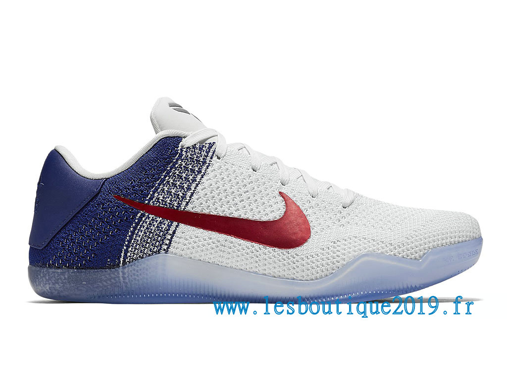 c667cfe250cd Nike Kobe 11 Elite USA Olympic Men´s Nike BasketBall Shoes White Blue  822675 184 ...