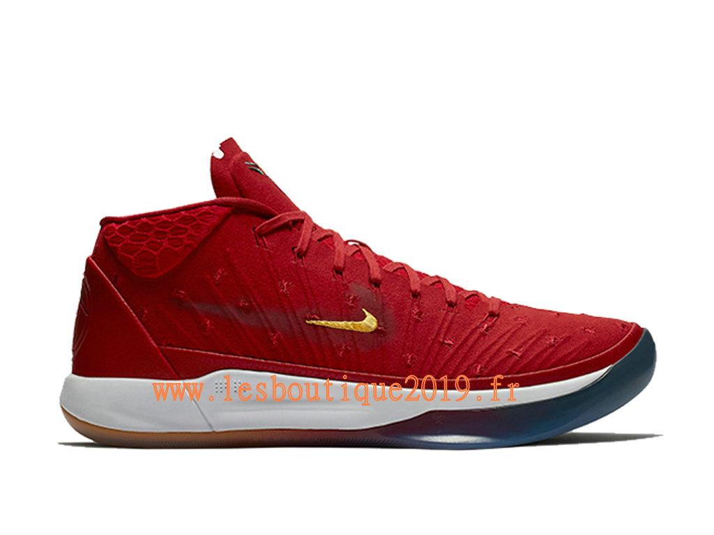3d302f02c4d Nike Kobe A.D. Mid Isaiah Thomas PE Red White Men´s Nike BasketBall Shoes  AQ2721