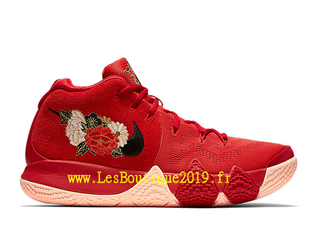 Nike Kyrie 4 Chinese New Year Rouge Chaussures Officiel Basket 2019 Pas Cher Pour Homme 943807-600