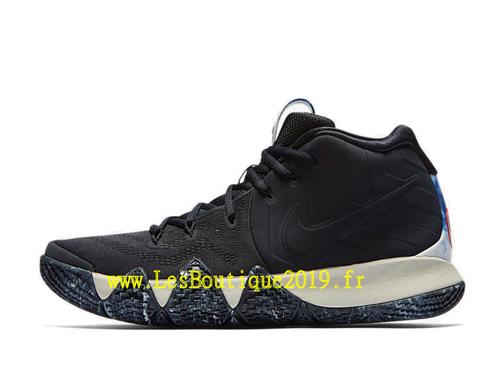 ccf786e70665 ... AT0320-400 Nike Kyrie 4 N7 Black White Men´s Officiel Basket 2019 Shoes  ...