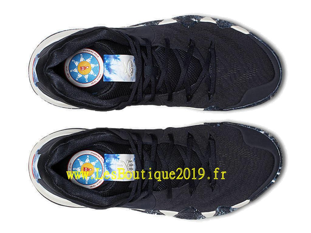 d083425ff1f ... Nike Kyrie 4 N7 Black White Men´s Officiel Basket 2019 Shoes AT0320-400  ...