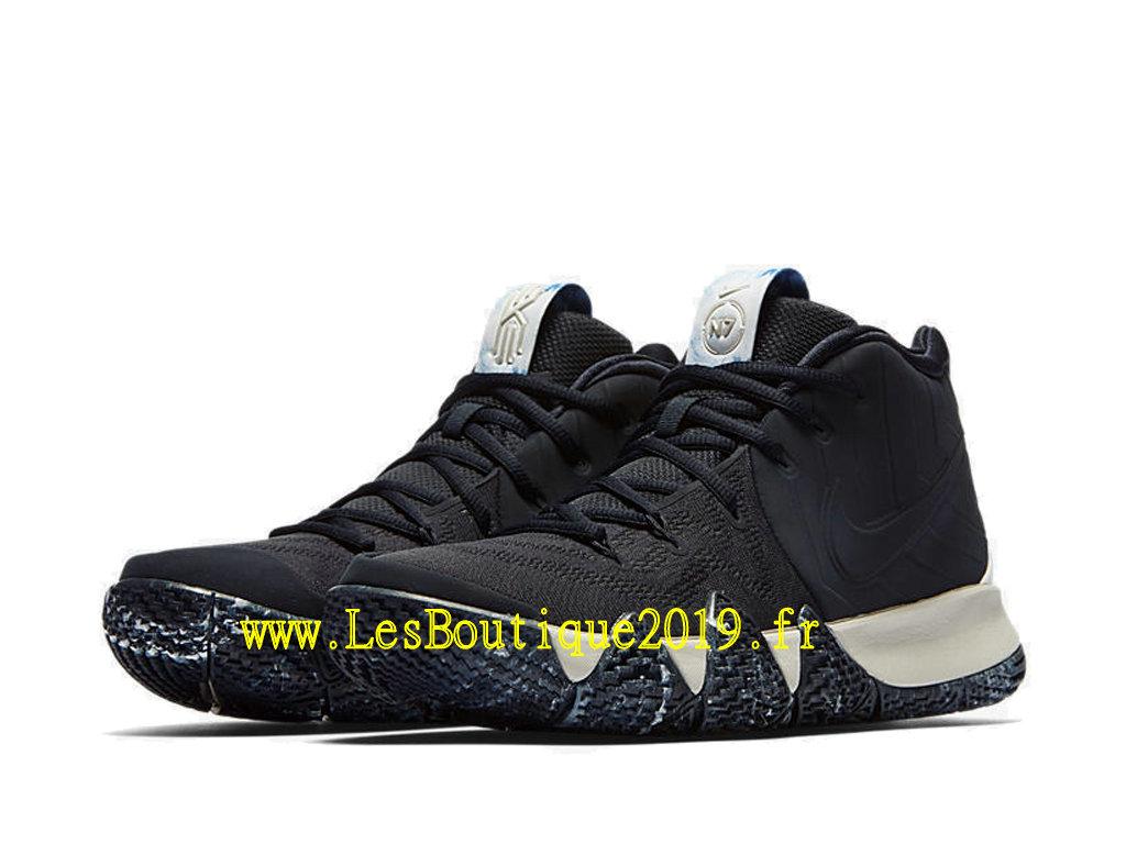 the latest e7013 10d82 ... Nike Kyrie 4 N7 Black White Men´s Officiel Basket 2019 Shoes ...
