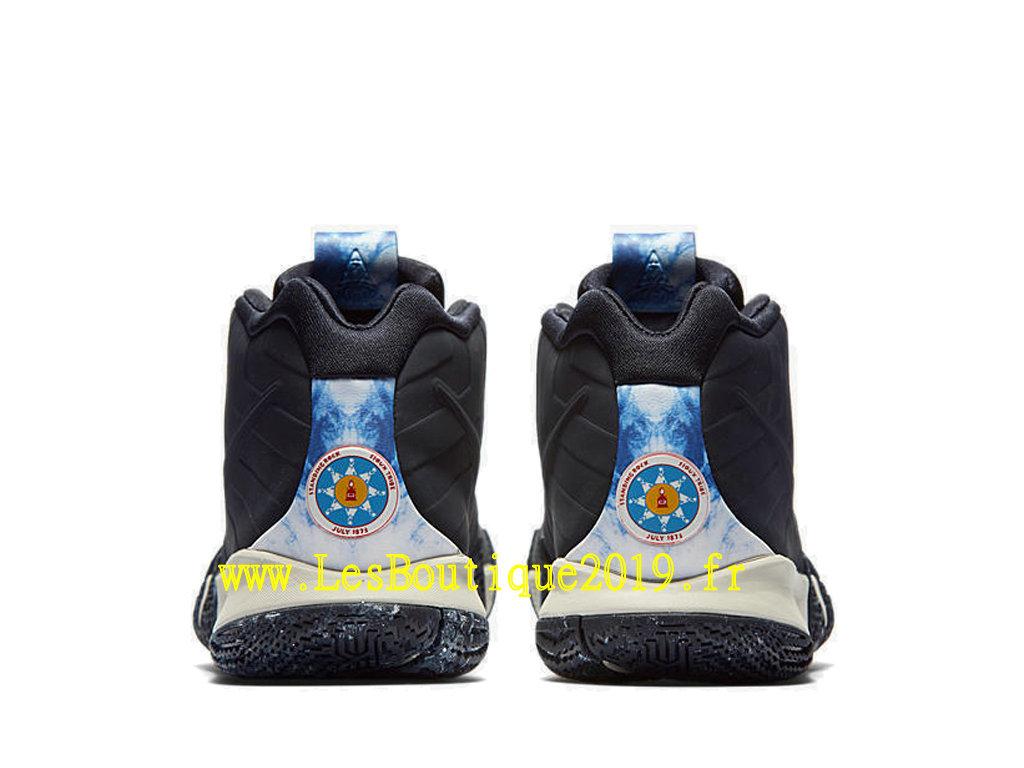 online store d39af c8b3f ... Nike Kyrie 4 N7 Black White Men´s Officiel Basket 2019 Shoes AT0320-400
