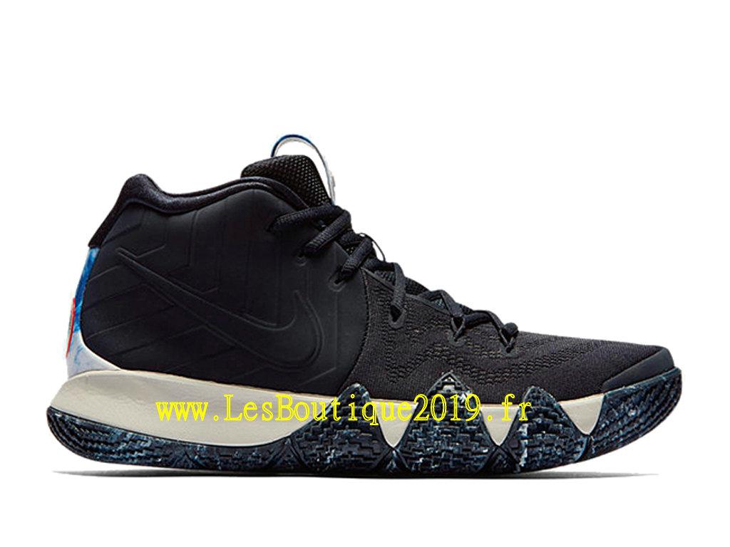 wholesale dealer 81b0d c3091 Nike Kyrie 4 N7 Black White Men´s Officiel Basket 2019 Shoes ...