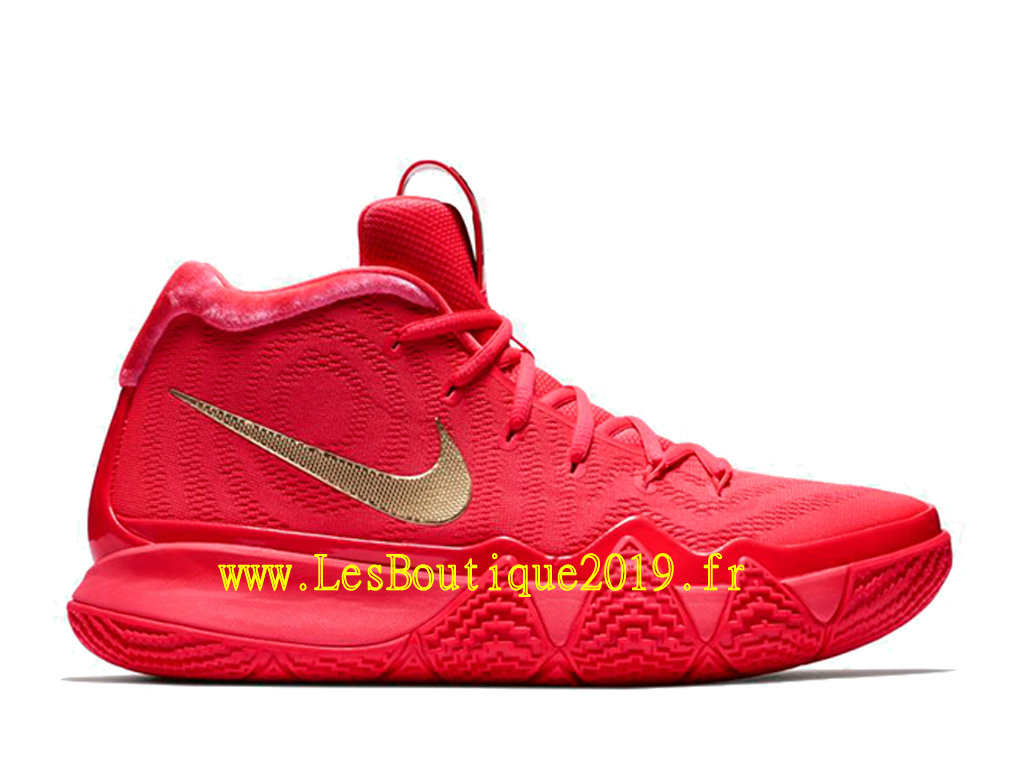 Carpet Red Nike Kyrie Basket Shoes Men´s 4 Officiel 943806 2019 602 srtdChQx