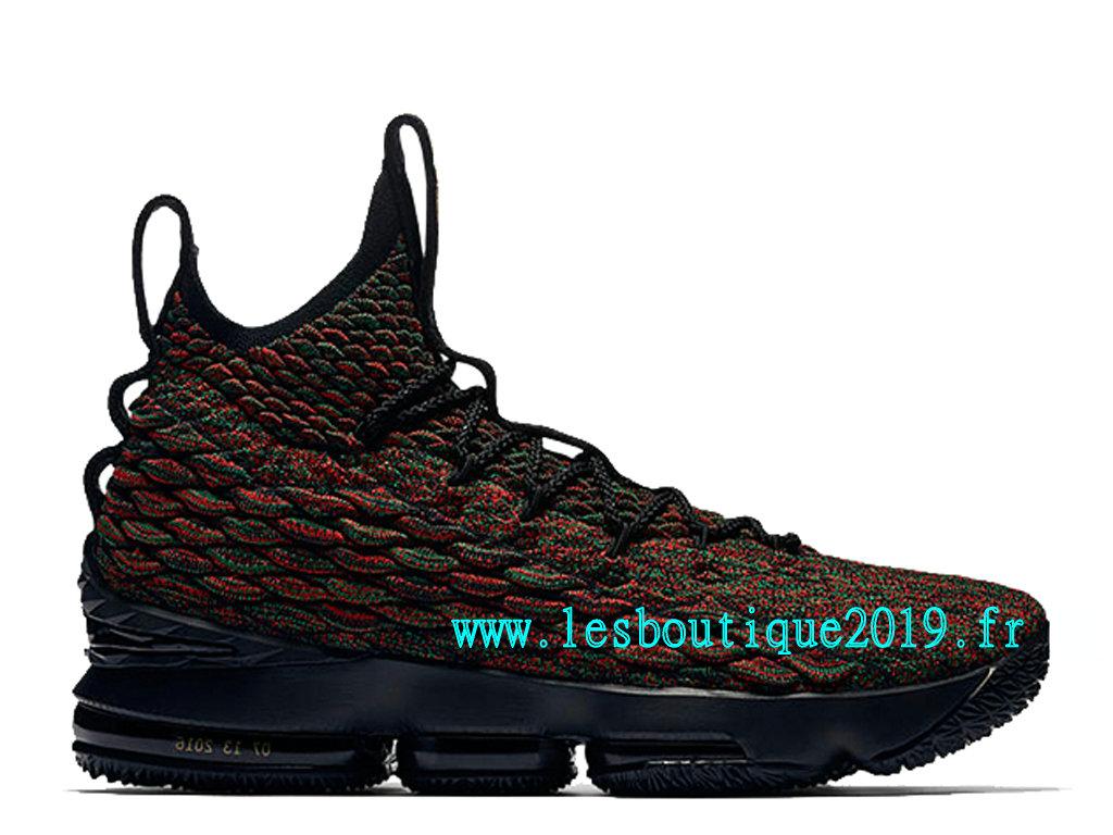 meilleur service f8067 ddbc5 Nike Lebron 15 LMTD Rouge Noir Chaussure de BasketBall Pas Cher Pour Homme  897650-900 - 1808010214 - Achetez de Chaussure de Baskets ! Nike en ligne!