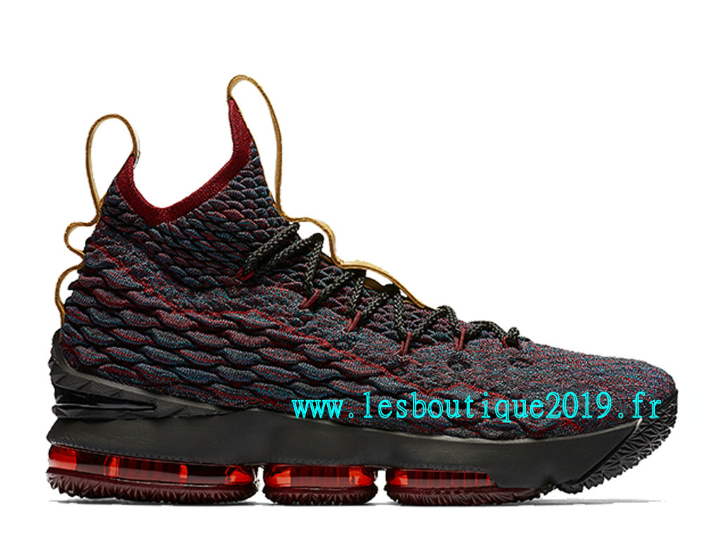 Nike LeBron 15 New Heights Cavs Chaussure de BasketBall Pas Cher Pour Homme 897648-300